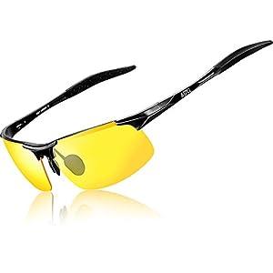 ATTCL Men's HOT Fashion Driving Sunglasses for Men Al-Mg metal Frame 8177-yeshi