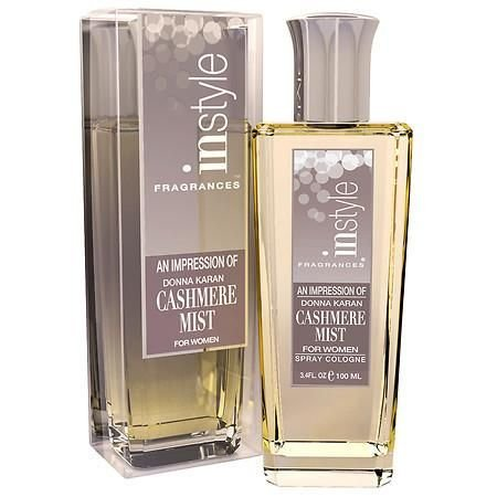 Instyle Fragrances - An Impression Spray Cologne for Women (Cashmere Mist) by INSTYLE