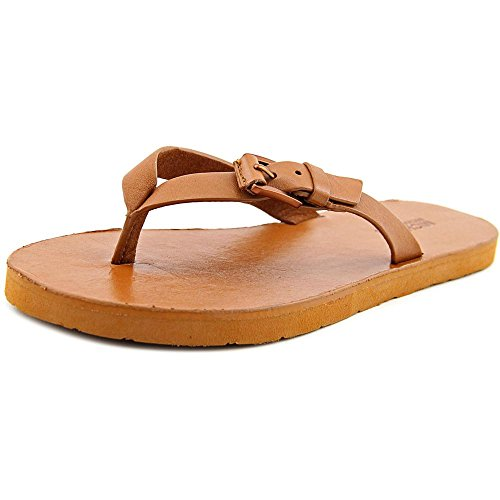 Womens Jocelyn Platform Sandal (MICHAEL Michael Kors Jocelyn Thong Luggage Vachetta Women's Sandals (5))