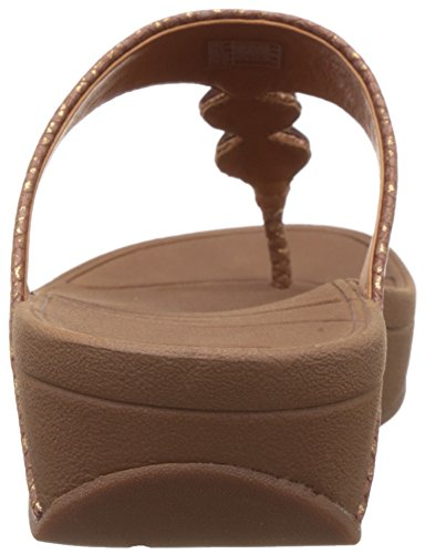 FitFlop Petra- Sandalias para mujer (COPPER) Marrón, talla 41