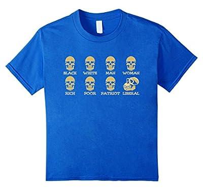Skulls of Modern America T-shirt, Funny Gift Shirt for Men