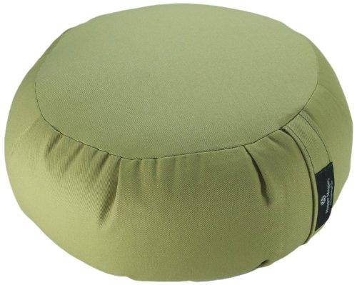 Hugger Mugger Zafu Meditation Cushion, Celery