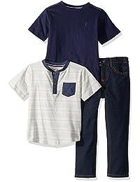 ingles lavanda Boys 'playera y pantalones Set de 3 piezas (más estilos disponibles)