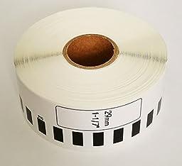 Brother-Compatible DK2210 DK-2210 Continuous Paper Labels (6 rolls)