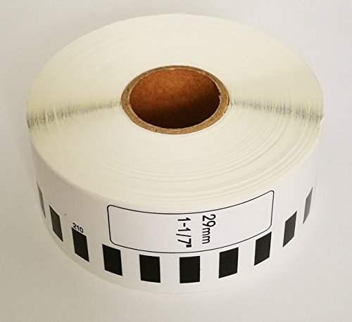 Continuous Paper Roll - Brother-Compatible DK2210 DK-2210 Continuous Paper Labels (36 rolls + 1 reusable cartridge)