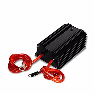 Universal High Efficiency Car Voltage Battery Cable Stabilizer Regulator+Mounting Plate