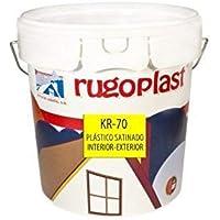 Rugoplast - Pintura plástica blanca satinada interior /