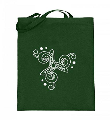 Shirtee BDBLS937_XT003_38cm_42cm_5739 - Bolso de tela de algodón para mujer Azul azul 38cm-42cm Verde