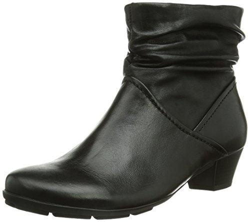 Gabor Shoes Gabor - botas de caño bajo de cuero mujer negro - negro