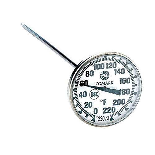 Comark T220/3 Pocket Calibrated Dial Thermometer ()