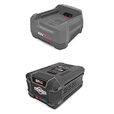 Snapper 82V Rapid Battery Charger + 82V Battery for Snapper XD Cordless Tools