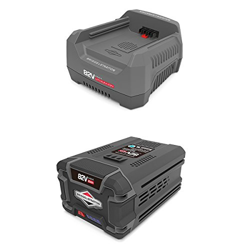 Snapper 82V Rapid Battery Charger + 82V Battery for Snapper XD Cordless Tools (Snapper Lawn Mower Battery)