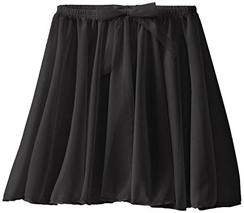 1b07575f5b Capezio Big Girls' Children's Collection Circular Pull-On Skirt, Black,  Medium