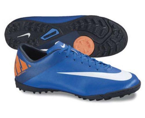 Nike Mecurial Victory II Astro Turf Fuszlig;ballstiefel  395|Blau