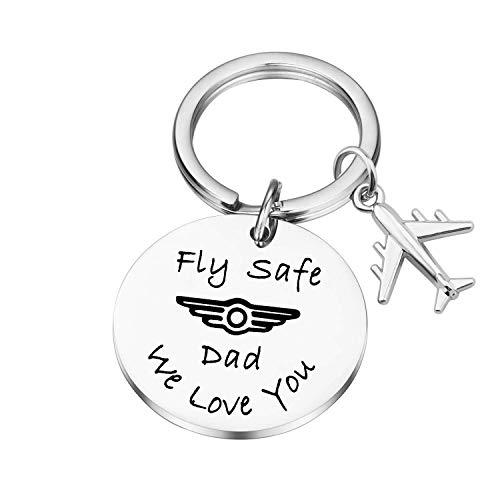 Lywjyb Birdgot Fly Safe Dad We Love You (ly Safe Dad Pilot Key)