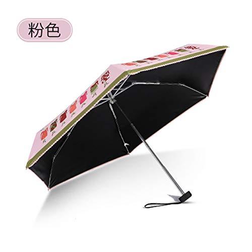 Ynebwcie Paraguas Ultra Ligero para Paraguas para Mujer Paraguas ...