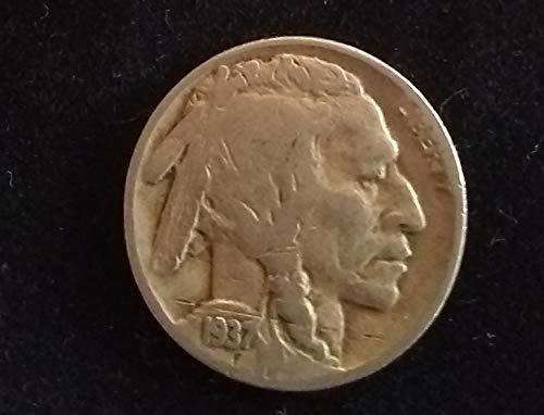 1937 D U.S. Buffalo Nickel VG to FINE+ American Mint U.S.A.