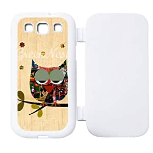 Personalized Styles of Owl Custom Flip Case Cover Protector for SamsungGalaxyS3 I9300