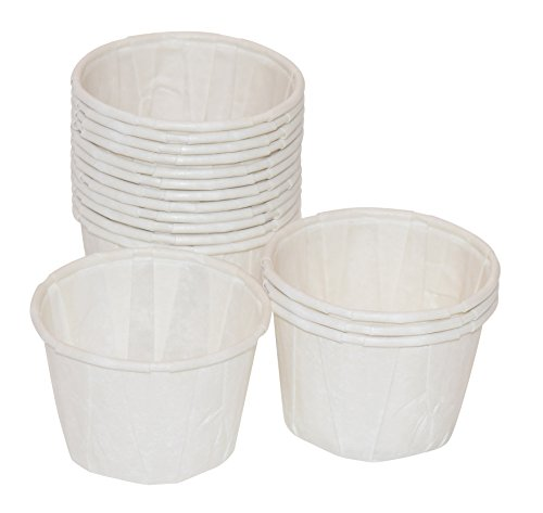 1 oz, Paper Souffle Portion Cups - Value set of 500