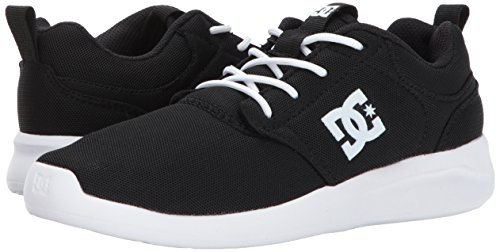 Pictures of DC Kids' Midway Skate ShoesBlack/White5 M ADBS700054 4