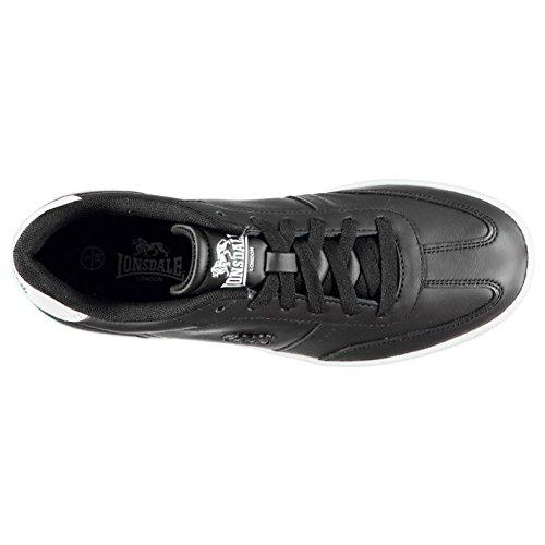Zapatillas Lonsdale blanco Negro Regent Wo Mujer wPP7qSft