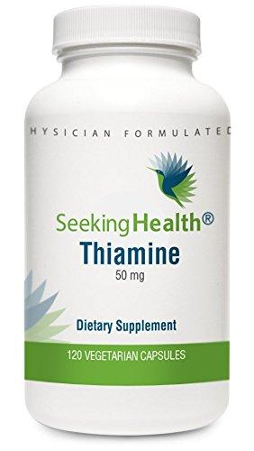 Thiamine Vegetarian Capsules Seeking Health