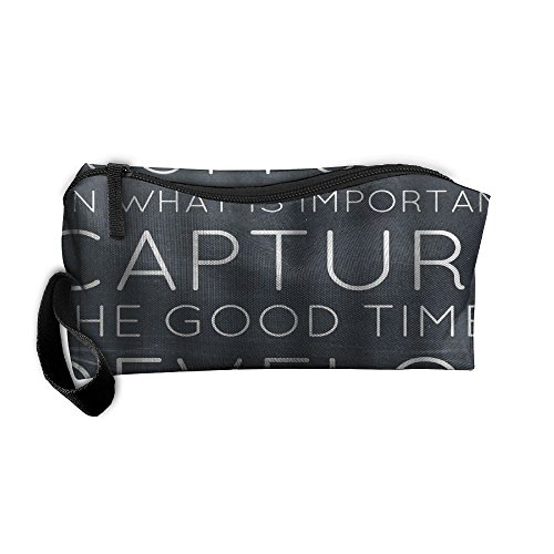 Inspirational Quotes   Life Is Like A Camera Storage Cosmetic Bag Portable Travel Makeup Bag Packing Pouches