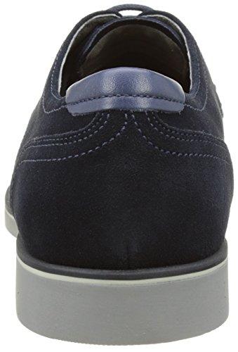 Geox U Danio C - Zapatos Derby Hombre Azul (Dk Navyc4021)