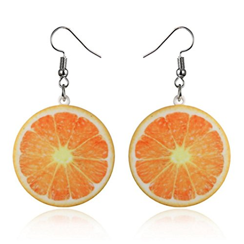 Beuu Creative Fruit Earrings Fresh Fruit Earrings For Adorable Her Earrings Women Jewelry Gift (Contemporary Costume Jewelry For Sale)
