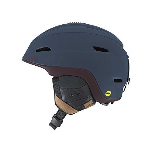(Giro Zone MIPS Snow Helmet Matte Turbulence/Maroon S (52-55.5cm))