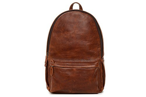 ONA The Leather Clifton Camera and Everyday Backpack, Antique Cognac [並行輸入品]   B01M6XHN38
