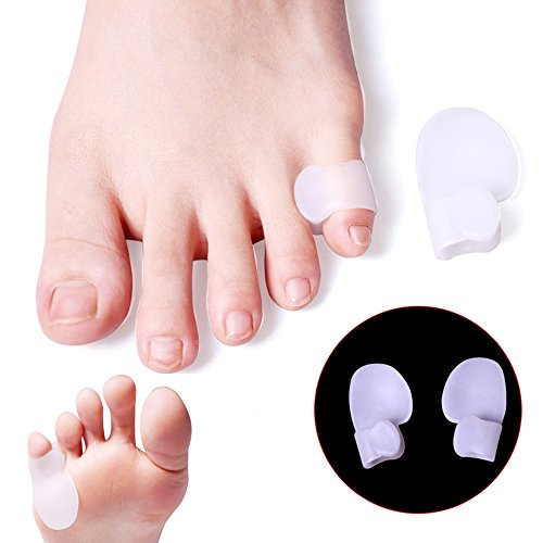 Bunionette Corrector & Tailor's Bunion Relief Protector Kits, Relieve Pain from - Overlapping Pinky Toes -Little Toe Separators Spacers Straighteners Splint by Dr.Koyama (Image #8)