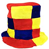 Blancho Bedding Fancy Dress Hat Jester Hat Fun Multi-Color Halloween Party Costumes,Clown Hat#3