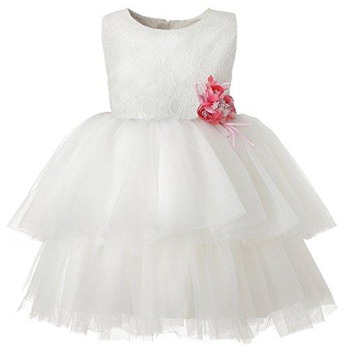 Hanakimi Sleeveless Knee-length Layered Special Occasion Dress JMK1619 (Custom Size, - Pie Satin Sweetie