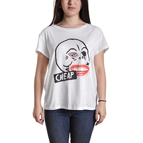 Cheap Monday t-shirt Have tee Fan mail skull