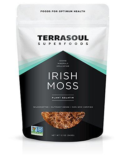 Irish Moss (Wildcrafted, Raw) (12 Ounces)