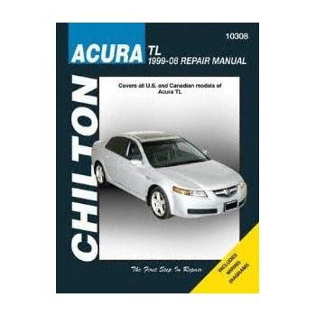 Chilton 10308 99 08 Acura Tl