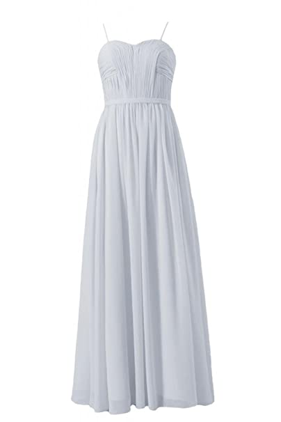 c17ee872cbbd8 Image Unavailable. Image not available for. Color: DaisyFormals Elegant  Long Sweetheart Chiffon Bridesmaid ...