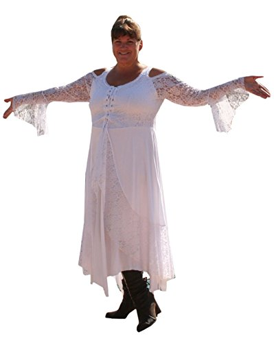 Bbw white lace