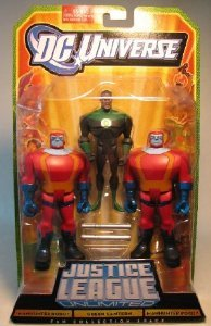 DC Universe Justice League Unlimited Green Lantern and -