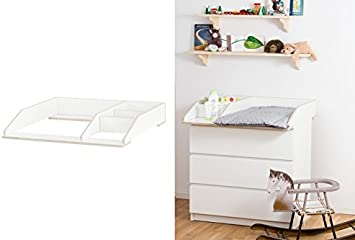 Ikea Malm Table A Langer Avec Compartiment 80 Cm De Large Pour Commode Ikea Malm En