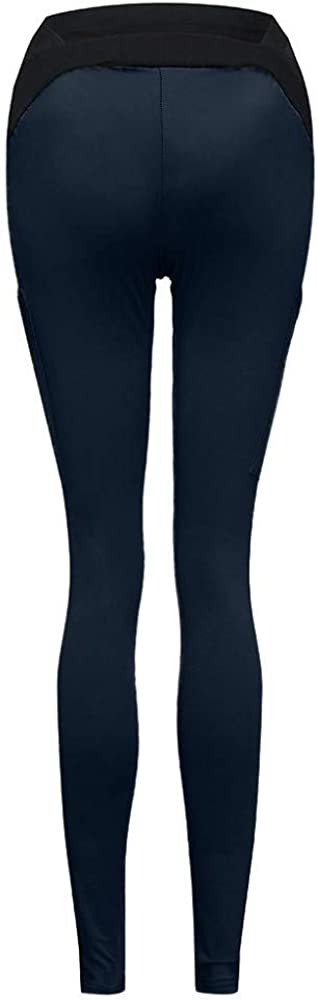 FIRSS Leggings fur Schwangere Lange Umstandsleggings Stretch Umstandsmode Hose Damen Mutterschaft Strumpfhosen Qualit/ät Umstands-Leggins Blickdicht Schwangerschaftsleggings Str/ümpfe schwarz