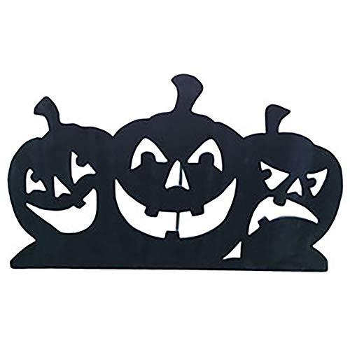 Pumpkin Silhouette - Design House Black Pumpkin Silhouettes Lawn Decoration, 23