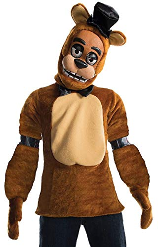 Rubie's 630622-L Boys Five Nights at Freddy's Fazbear Costume, Large, Multicolor (Pack of 4)