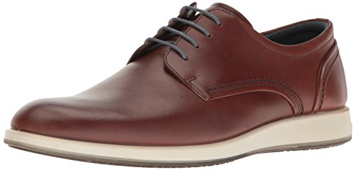 Ecco Mannen Jared Tie Oxford Cognac