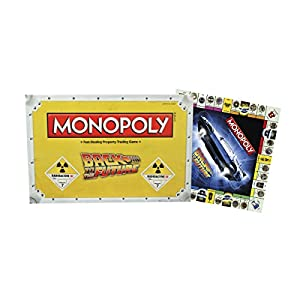 Back to the Future Monopoly Board Game - 41o1cO8n7VL - Back to the Future Monopoly Board Game