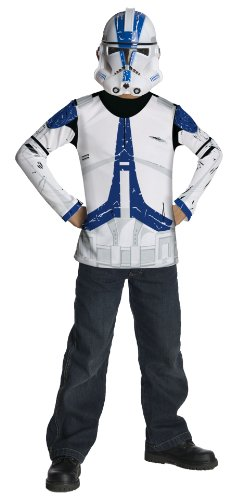 Star Wars Clone Trooper Value Costume - Large (Science Fiction Costumes)