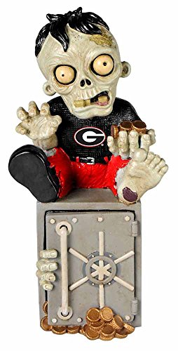 Georgia Bulldogs Zombie Figurine - (Georgia Piggy Bank)