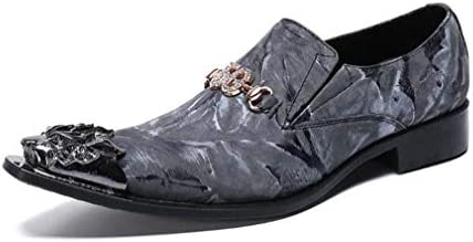 ポインテッドトゥアンクルブーツメンズ、ファッションレザーチェルシーブーツ、パーティー、イブニングオックスフォードエレベーターの靴ブーツのサイズを秋