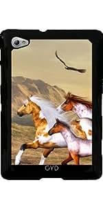 Funda para Samsung Galaxy Tab P6800 - Manada De Caballos Salvajes by Gatterwe